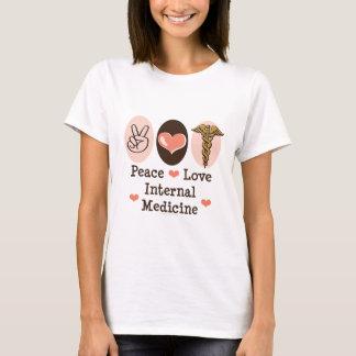 Peace Love Internal Medicine T shirt
