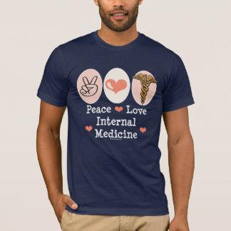 Peace Love Internal Medicine Tshirt