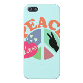 Peace Love iPhone SE/5/5s Cover