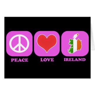 Peace Love Ireland Cards