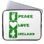 Peace Love Ireland Laptop Sleeve
