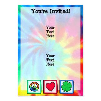 Peace, Love, Irish Card