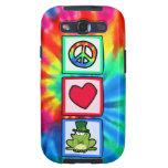 Peace, Love, Irish Frog Samsung Galaxy S3 Case