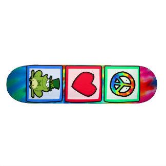Peace, Love, Irish Frog Skateboard Decks