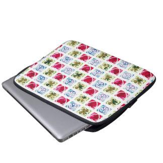 Peace Love & Irish Luck Laptop Sleeve
