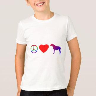 Peace Love Irish Wolfhounds Child's T-Shirt