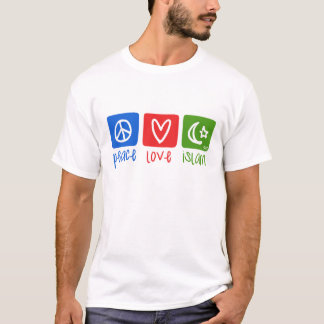 peace love islam (hor) T-Shirt