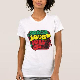 Peace love ital t shirt