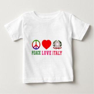 Peace Love Italy Infant T-shirt