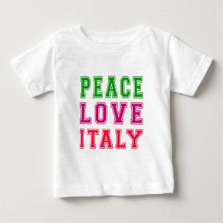 Peace Love Italy T-shirts