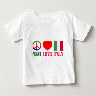 Peace Love Italy T Shirts