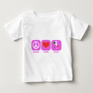 Peace Love Italy Shirt