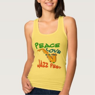 Peace Love Jazz Fest Sax
