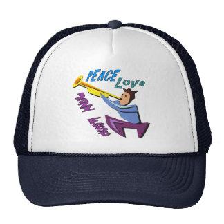 Peace Love Jazz Fest Trucker Hat