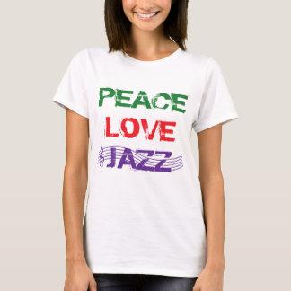 PEACE LOVE JAZZ T-Shirt