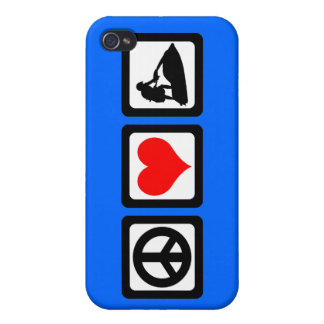 peace love jetskiing cover for iPhone 4