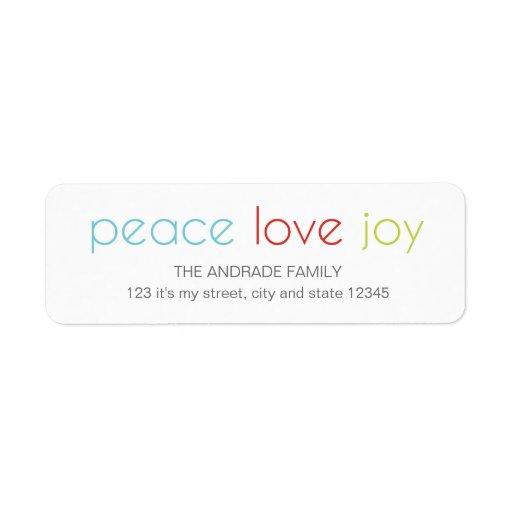 Peace Love Joy Christmas Holiday...