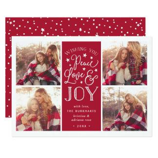 Peace, Love & Joy | Christmas Photo Card