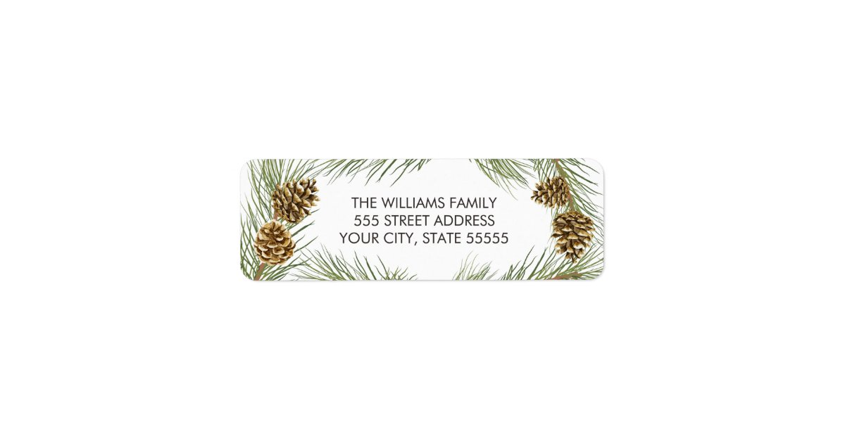 peace love joy christmas return address labels zazzle com