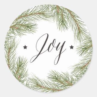 Peace Love Joy Christmas Sticker