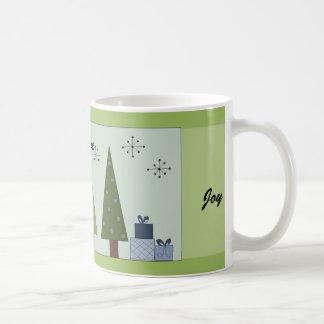 Peace, Love, Joy Coffee Mug