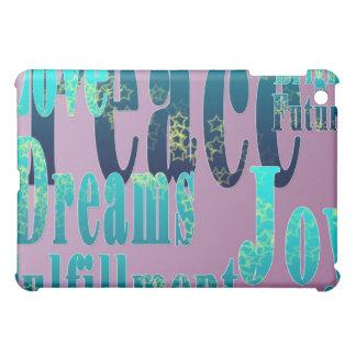 Peace, Love, Joy, Fulfillment, I Pad Case iPad Mini Covers