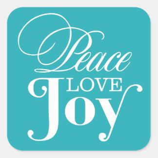 PEACE LOVE JOY | HOLIDAY ENVELOPE SEAL