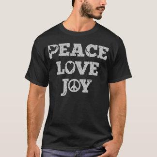 Peace Love Joy Holiday  Inspired T Shirt