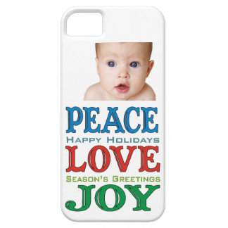 Peace Love Joy Holiday iPhone 5 Case