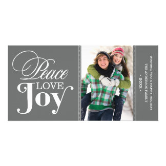 PEACE LOVE JOY | HOLIDAY PHOTO CARD