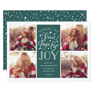 Peace, Love & Joy | Holiday Photo Card