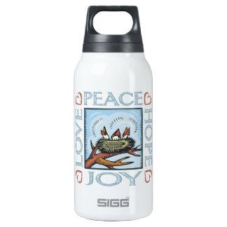 Peace,Love,Joy,Hope Insulated Water Bottle