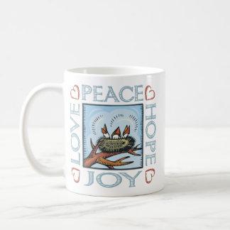 Peace,Love,Joy,Hope Coffee Mug