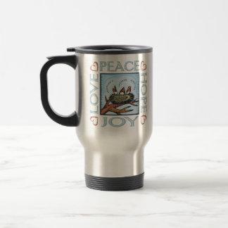 Peace,Love,Joy,Hope Travel Mug