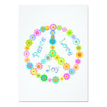 Peace Love Joy Invite
