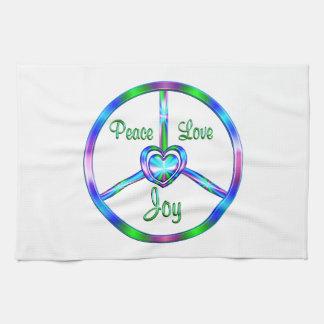 Peace Love Joy Towel