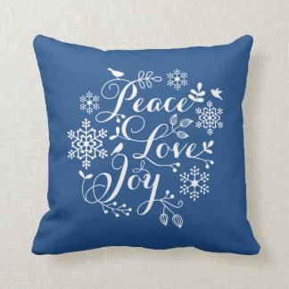 Joy Throw Pillows : Christmas Joy Pillows - Decorative & Throw Pillows Zazzle