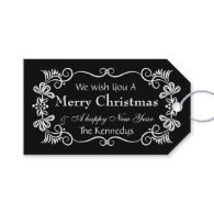 Peace Love Joy Merry Christmas Wishes Pack Of Gift Tags