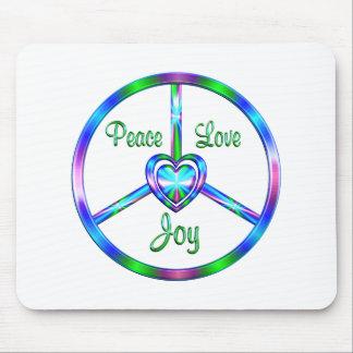 Peace Love Joy Mouse Pad