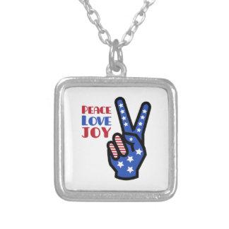 Peace Love Joy Necklaces
