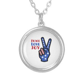 Peace Love Joy Necklace