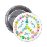 Peace Love Joy Pins