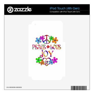 Peace Love Joy Decal For iPod Touch 4G