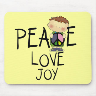 Peace Love Joy Tshirts and Gifts Mouse Pad