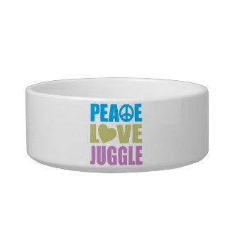 Peace Love Juggle Bowl