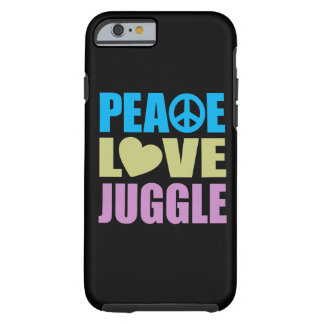 Peace Love Juggle Tough iPhone 6 Case