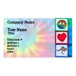Peace, Love, Kangaroos Business Cards