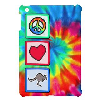 Peace, Love, Kangaroos Case For The iPad Mini