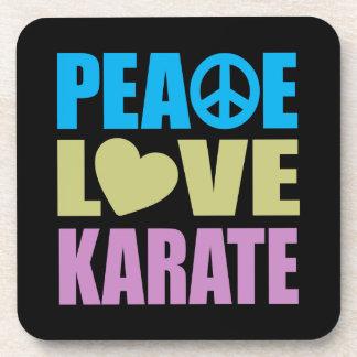 Peace Love Karate Coaster