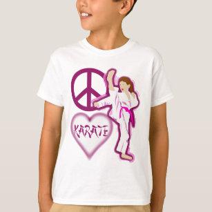 94cfc300a Pink Karate T-Shirts - T-Shirt Design & Printing   Zazzle